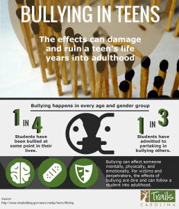 Teen Bullying Month: How You Can Support Your Child Bullying infographic TR 1