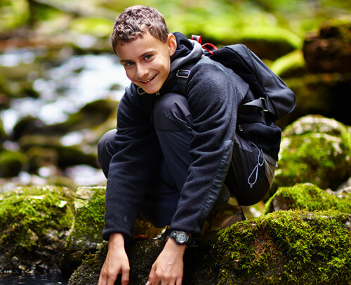 wilderness therapy teen boy